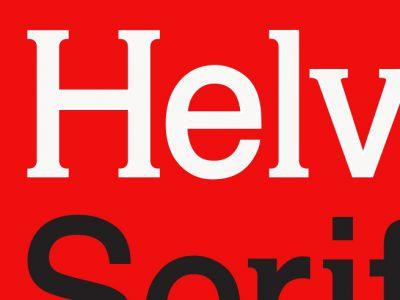 Helvetica Serif